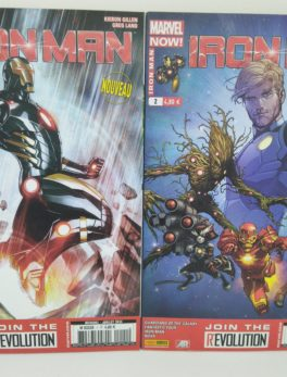 Comics Marvel Now - Iron Man N°1 et 2