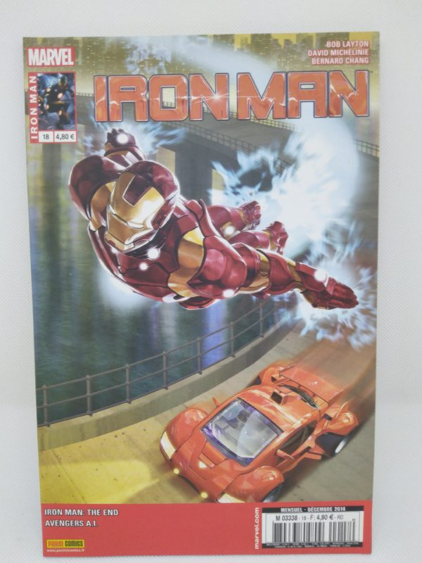 Comics Marvel - Iron Man N°18 - La fin