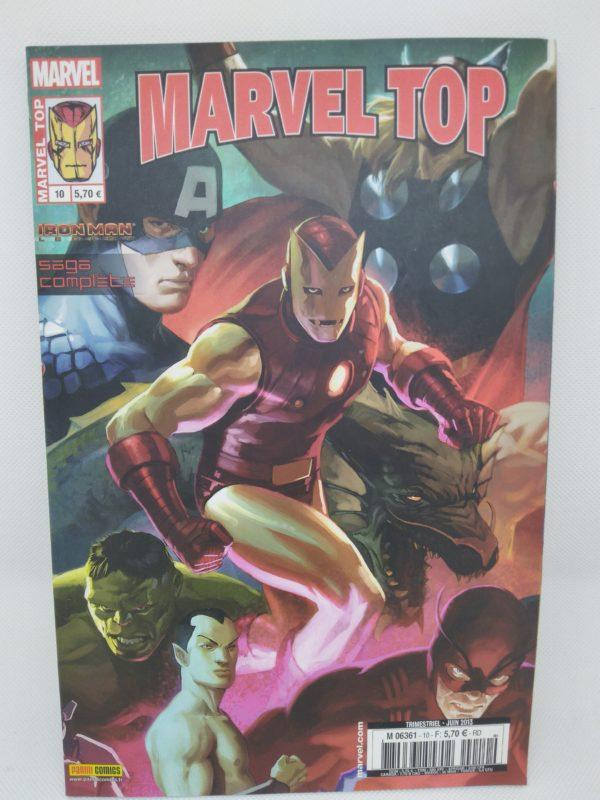 Comics Marvel Top - N°10 - Revolution Industrielle