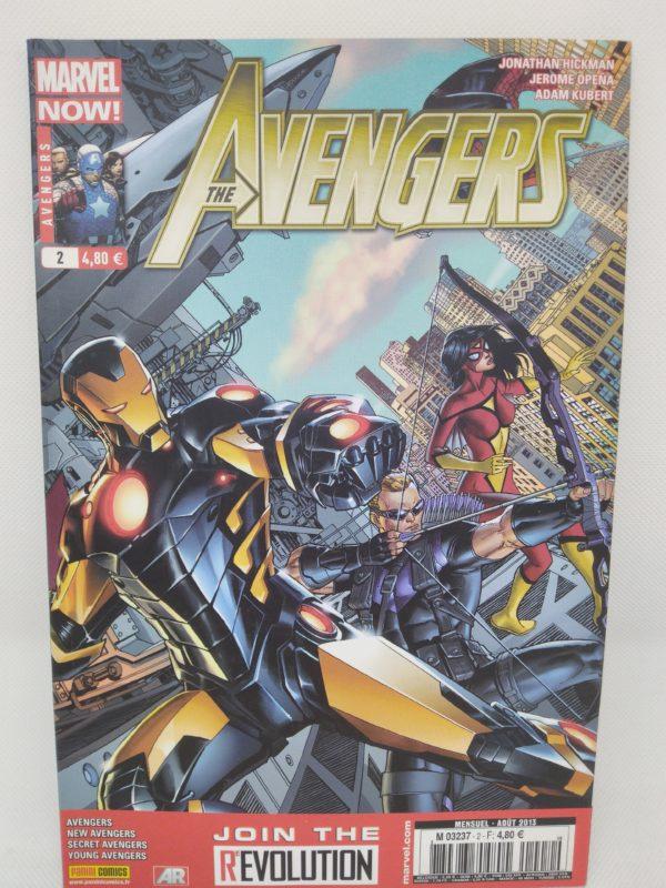 Comics Marvel - The Avengers N°2 - Sous le sceau du secret