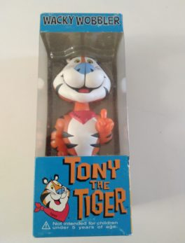 Figurine Tony the Tiger - Wacky Wobbler - Kellogg's