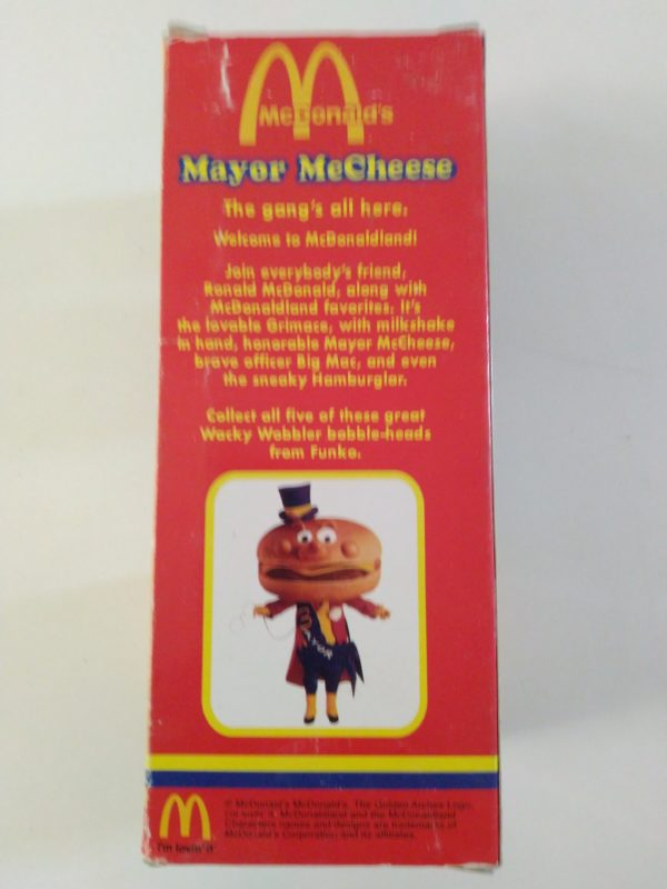 Figurine Mayor McCheese - Wacky Wobbler - Funko - Mcdonald's - Bobble Head
