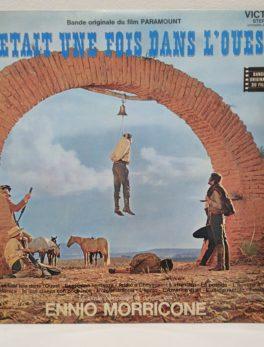Disque Vinyle - 33 tours - Ennio Morricone - Il était une fois dans l'ouest