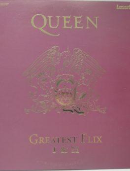 Laserdisc - QUEEN - Greatest Flix 1 et 2