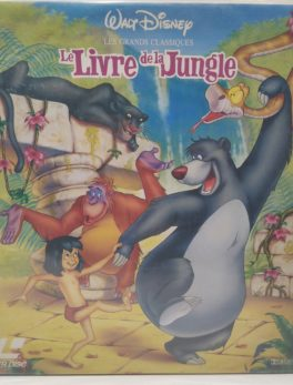 Laserdisc - Disney - Le Livre de la Jungle