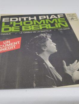 45 tours - Edith Piaf - L'homme de Berlin