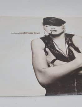 Disque Vinyle - 45 tours - Madonna - Justify my love