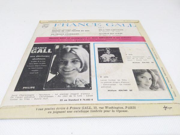 Disque Vinyle - 45 tours - France Gall - Poupée de cire poupée de son
