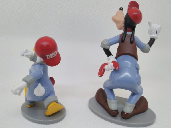 Figurine vintage Donald duck et Dingo - Disney - Made in Vietnam