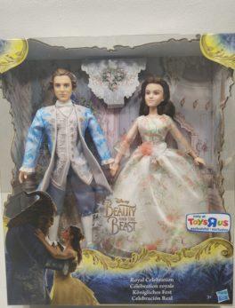 Figurine Disney La belle et la bête - La belle et le prince