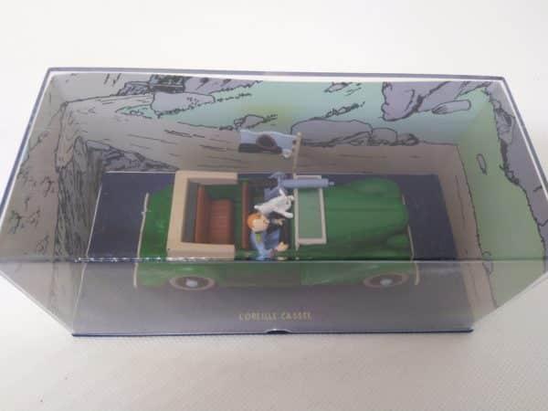 """Voiture miniature TINTIN """"L'oreille cassée""""- 1/43 ème"""