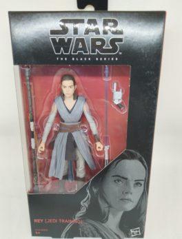 Figurine Star Wars rebelles - Black series - Rey (jedi training) N°44 - Hasbro
