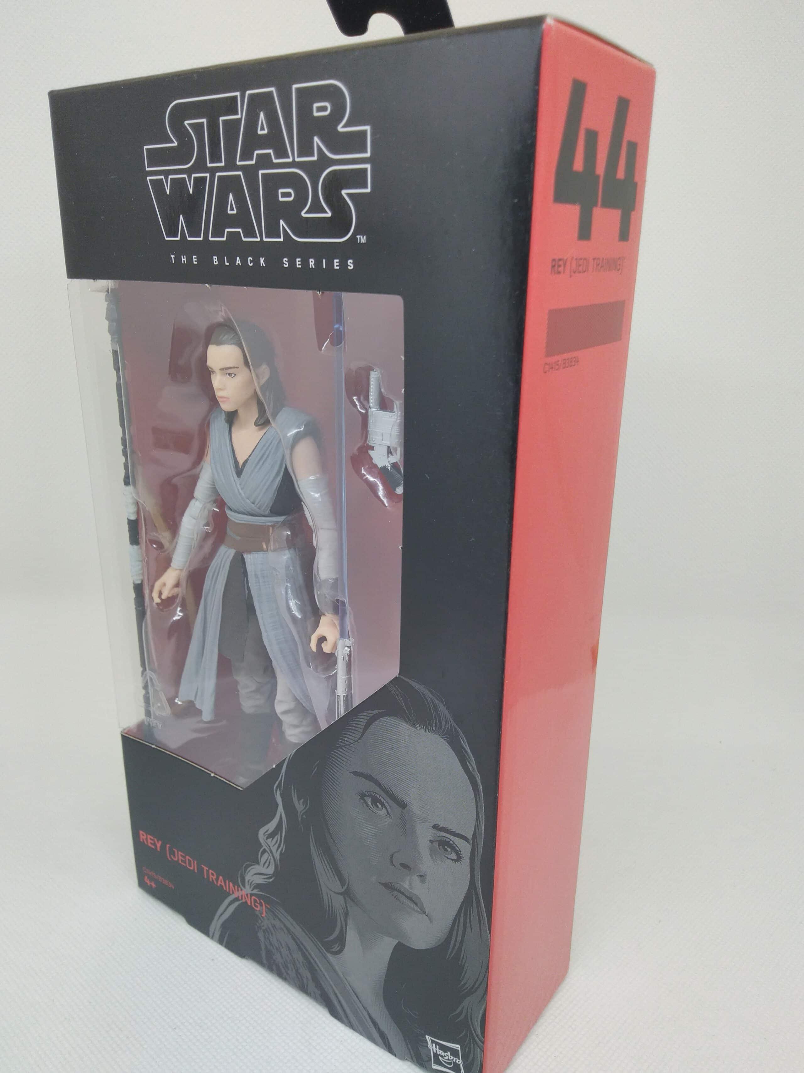 "plus dans ma boutique JEDI TRAINING Star Wars The Black Series 6/"" FIGURINE Nº 44 Rey"