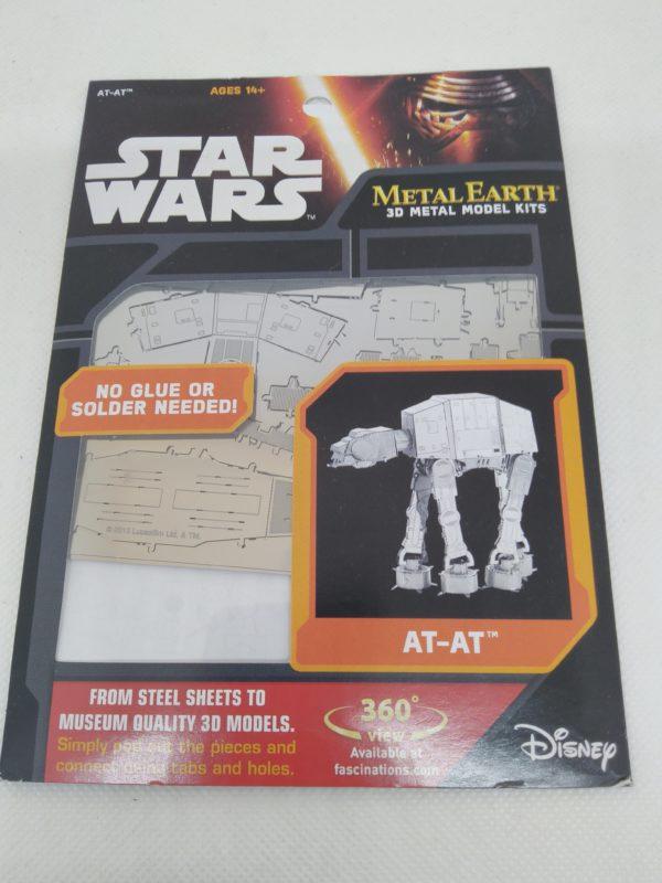 Puzzle Metal Earth - 3D metal kits - Star Wars - AT-AT