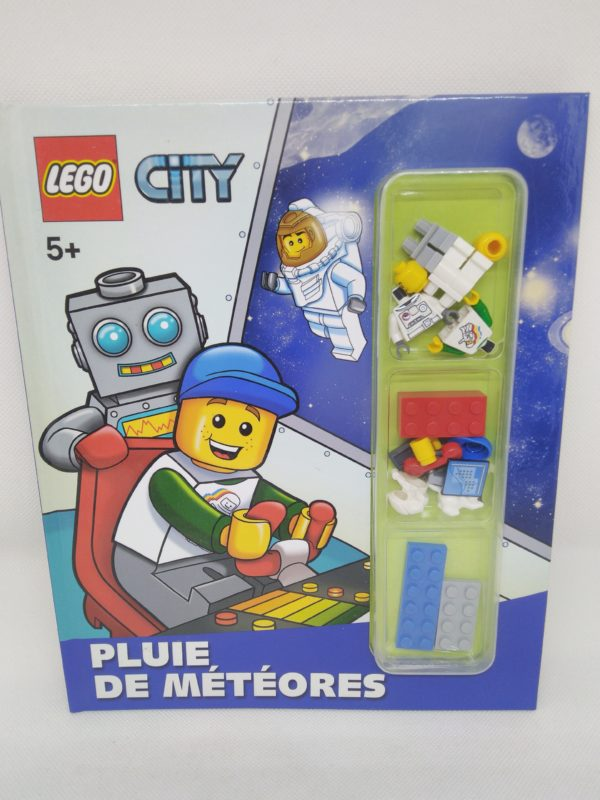 Livre Lego -Pluie de météores