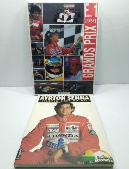 2 livres Ayrton SENNA et Grand Prix F1 de 1991