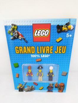 Livre Lego - Grand livre jeu - 100% lego
