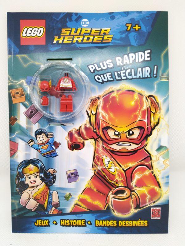 Livre Lego - DC - Flash