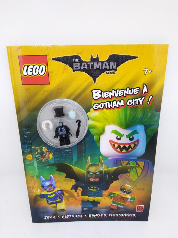 Livre Lego - The batman movies