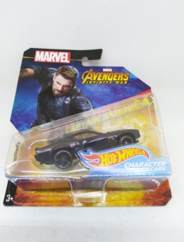 Voiture Hot Wheels - Personnage Marvel Avenger Infinities War - Captain América
