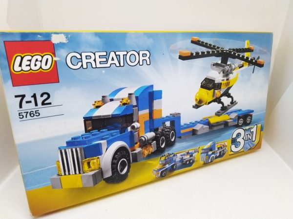 LEGO CREATOR - 5765 - Transport d'hélicoptère - 3 en 1