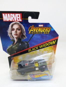 Voiture Hot Wheels - Personnage Marvel Avenger Infinities War - Black Widow