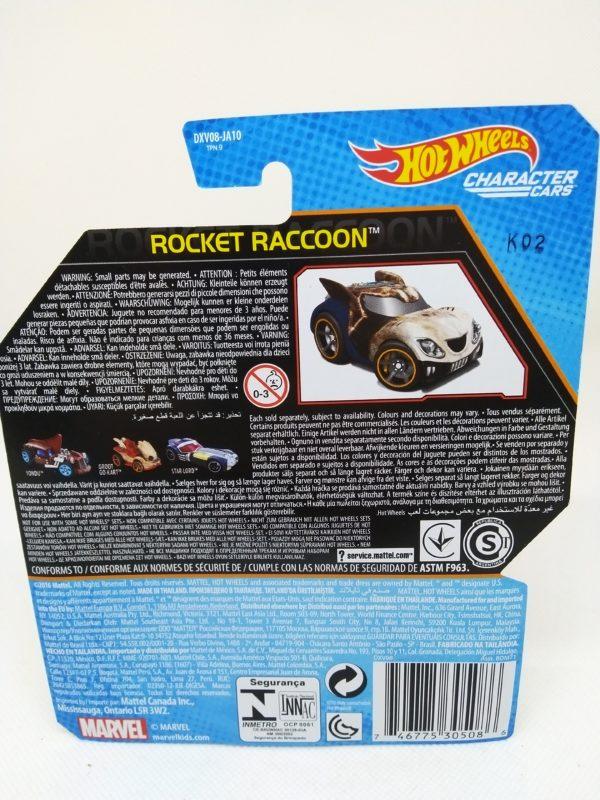 Voiture Hot Wheels - Personnage Les guardians de la galaxy vol.2 - Rocket Raccoon
