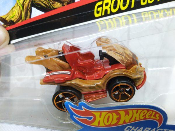 Voiture Hot Wheels - Personnage Les guardians de la galaxy vol.2 - Groot