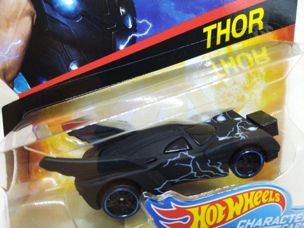 Voiture Hot Wheels - Personnage Marvel Avenger Infinities War - Thor