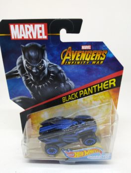 Voiture Hot Wheels - Personnage Marvel Avenger Infinities War - Black Panthers