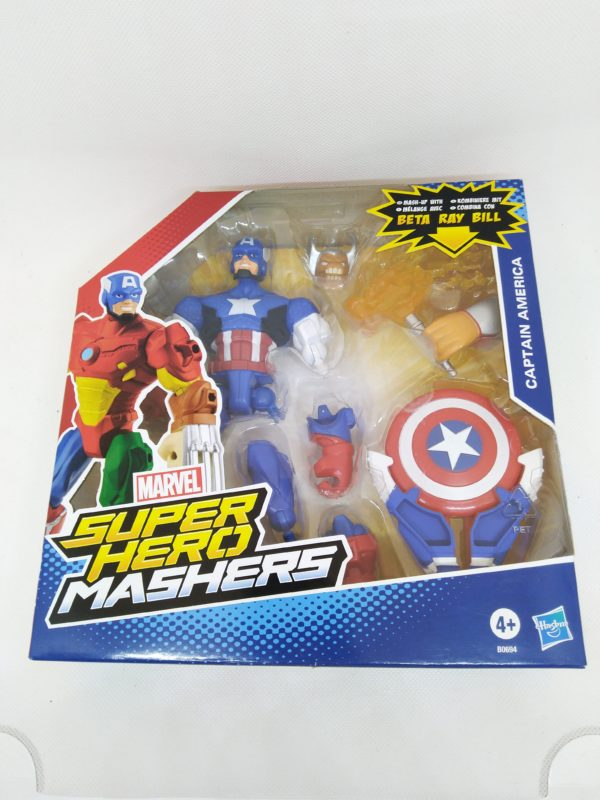 Figurine Hasbro Super Heros Marvel Mashers - Captain América