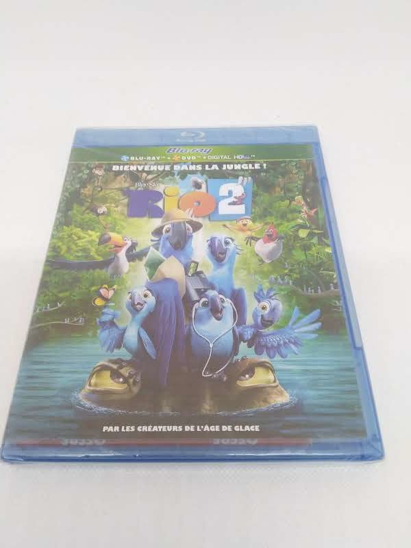 "DVD Blu-Ray ""RIO 2"""