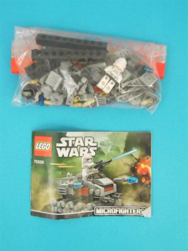 LEGO star wars - 75028 - Clone turbo Tank