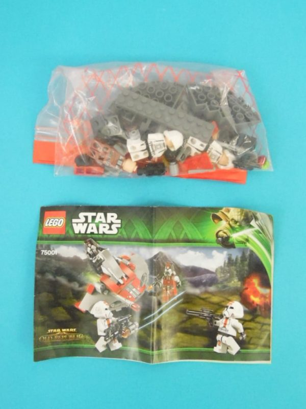 LEGO Star Wars - N° 75001 - Republic Troopers contre Sith Troopers