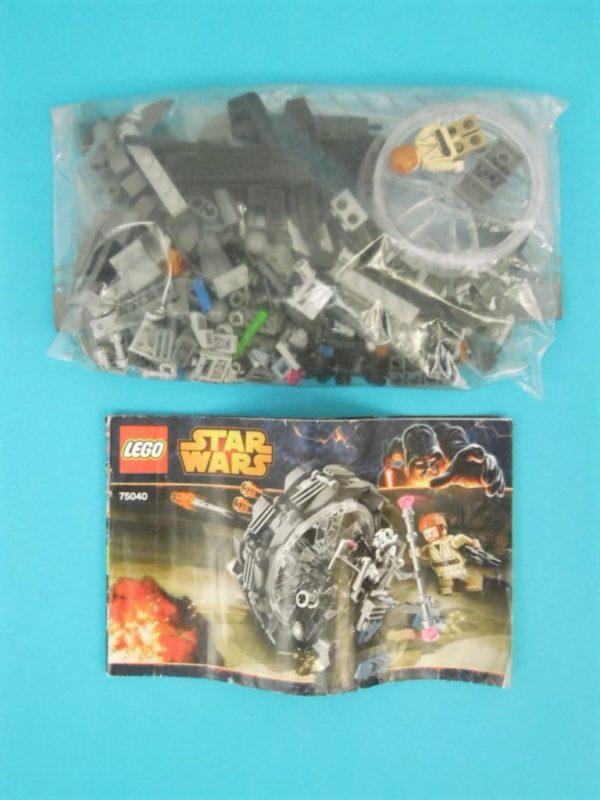 LEGO Star Wars - N° 75040 - Vélo à roue du Général Grievous