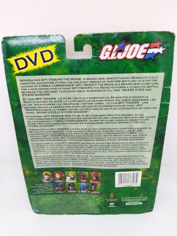G.I.JOE - DVD+3 Figurines (Duke/Strom shadow/Snake eyes)