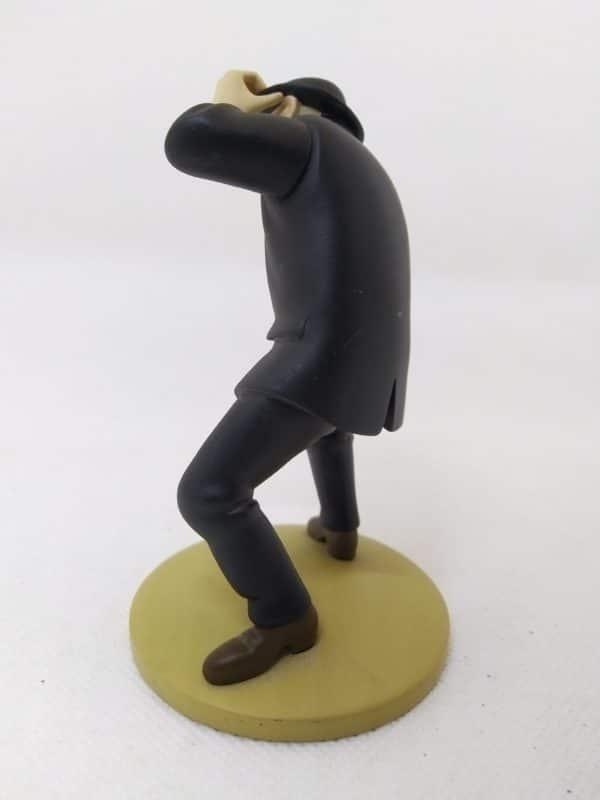 Figurine DUPOND engoncé - Hergé Moulinsart 2011 - Le secret de la licorne