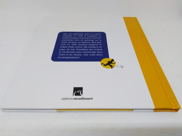 Livret La Castafiore avec certificat - Hergé Moulinsart 2011