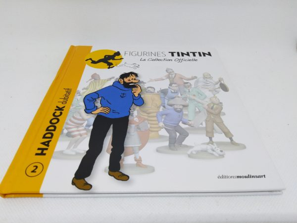 Livret HADDOCK dubitatif avec certificat - Hergé Moulinsart 2011