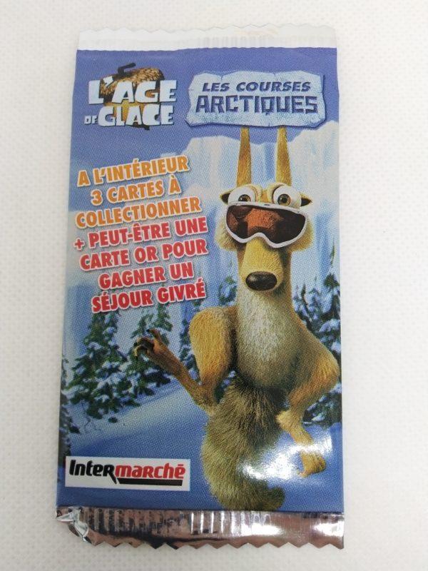 """Cartes à jouer """" L'age de glace"""" - les courses Arctiques"""