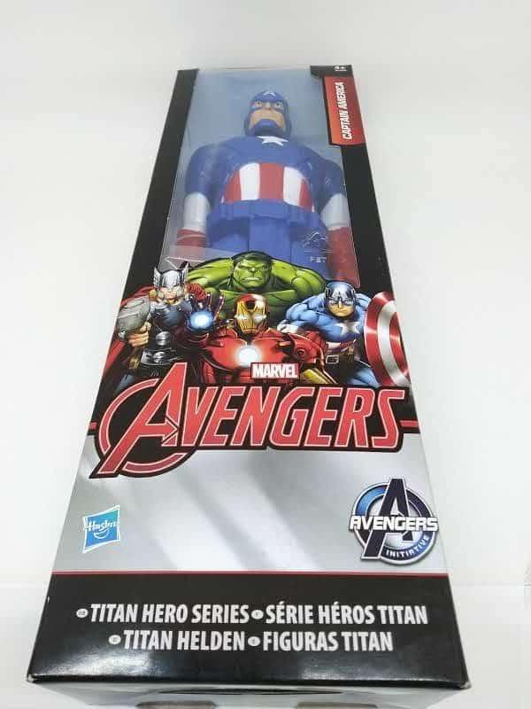 Figurine Titan Hero - Captain America 30cm - - Figurine Titan Hero - Captain America - Figurine articulée