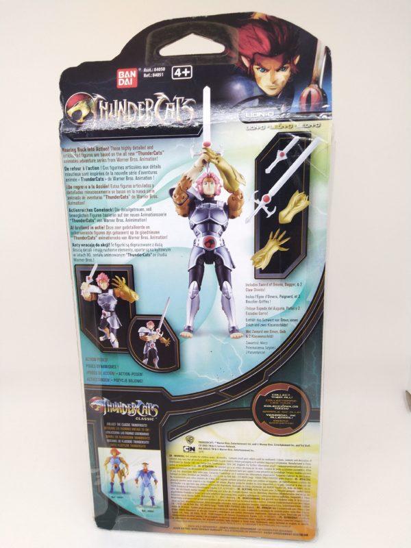 "Figurine Thundercats - ""LION-O"" - BANDAI"