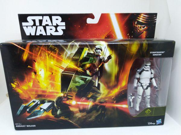 Figurine Assault Walker - Sergent Stormtrooper - Star Wars - Hasbro