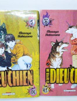 Manga Le réveil du dieu chien - tome 1 et 2