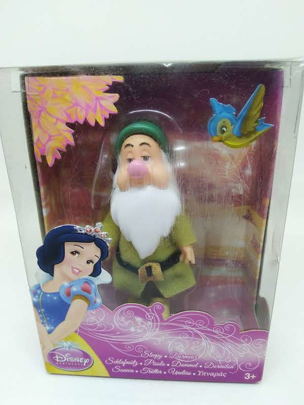 Figurine Disney princess - Blanche neige et les 7 nains - Dormeur
