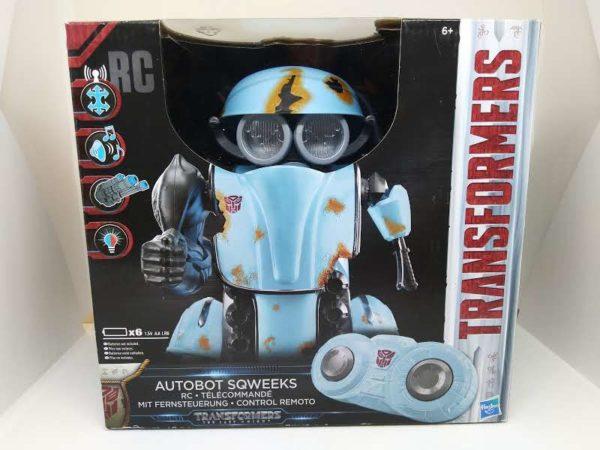 Robot télécommandé Transformers Autobot Sqweeks