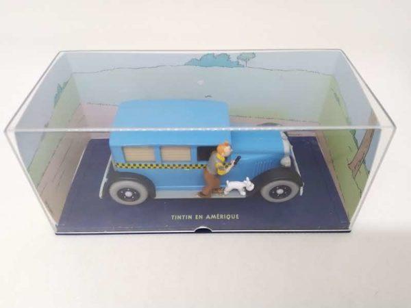 """Voiture miniature TINTIN """"Tintin en Amérique""""- 1/43 ème"""