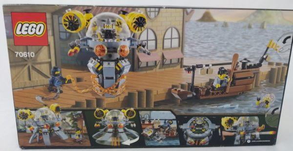 LEGO NINJAGO - 70610 - La méduse turbo