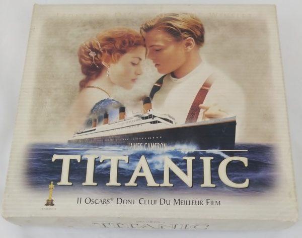 Coffret Titanic James Cameron limité