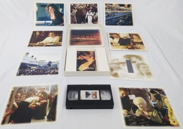 Titanic en VHS collector